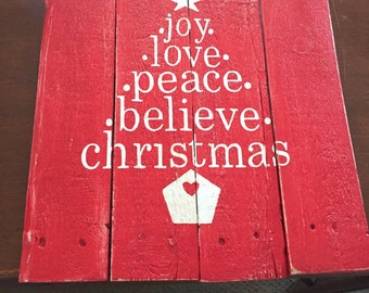 Christmas pallet signs #christmas#santa#pallet#signs#holiday#family#joy