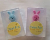 Clean Fun Pink Bunny Soap