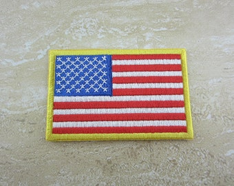 AMERICAN FLAG Patch Iron On