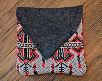 Handmade Tribal Print Pouch