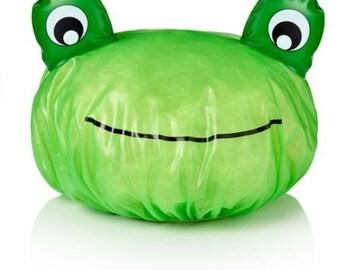 Frog Shower Cap