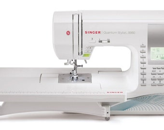 SINGER 9960 Quantum Stylist 600-Stitch Computerized Sewing Machine with