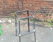 Barstool frame with back, steel frame, steel bar stool frame, iron frame, iron bar stool frame, barstool frame, bar stool frame