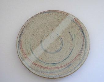 Ceramic platter - handmade stoneware pottery