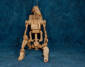 BATTLE DROID Star Wars Inspired Figure