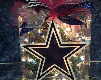 Dallas Cowboys Block Light