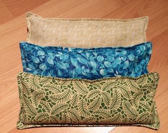 Eye pillow bundle, Aromatherapy, heating pad, cold pack