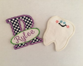 Tooth Fairy Pillow - Tooth Fairy Patches - Tooth Fairy Pocket