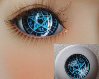 Ciel Star Doll Eyes for BJD Dollfie 12mm 14mm 16mm 18mm 20mm 22mm Blue