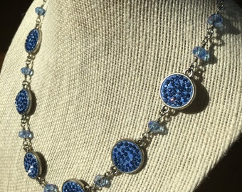Blue Sparkle Necklace