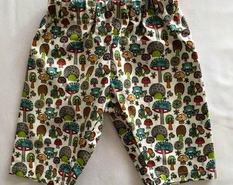 Organic baby and toddler long pants