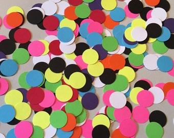 225 Rainbow Confetti Rainbows Girl Confetti Boy Confetti Piñata Birthday Confetti Shower Confetti Polka Dot Confetti Rainbow Confetti