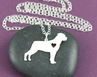 Rottweiler pendant jewelry dog collectible