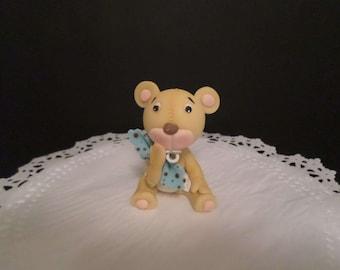 Tedd bear cake topper