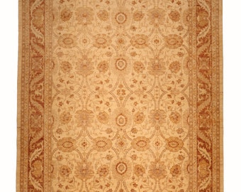 Decorative Afghan hand knotted rug.