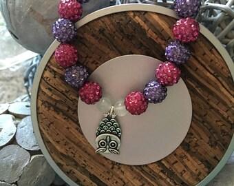 Owl sparkle bracelet