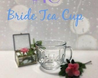 Bride Tea Cup