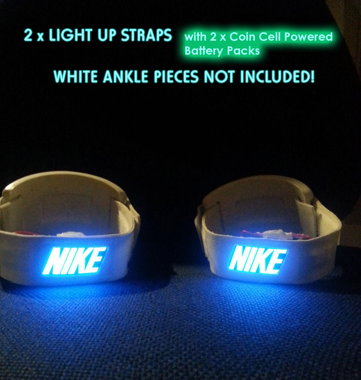 Cheap nike air mag china - Light Up Back To The Future Air Mags Strap Set For Shoes Replicas Costumes Marty Mcfly 80s Nike