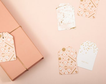 GIFT TAGS Peach  - Wedding Favors ( Box of 20 )
