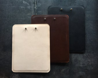 Leather Clipboard