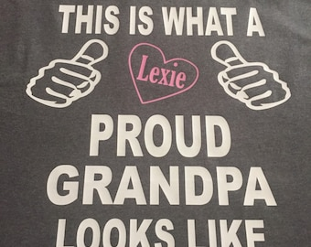Proud Grandpa - this is what a proud grandpa looks like