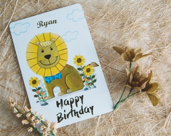 Birthday Invitation Cards for Babies and Kids