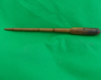 Yew Wand - Hand Turned - Wiccan Wand