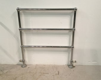Chromed Bathroom towel rail