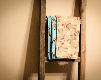Little Monkey Baby Blanket - Fleece n' Flannel