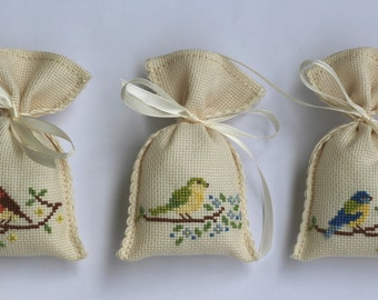 Set of 3 Lavender Scented Sachets