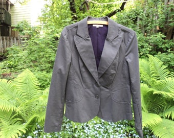 Jacket vintage RW & Co. grey charcoal.