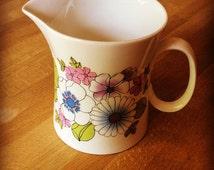 Angelique floral hostess tableware milk jug