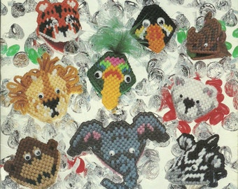 Plastic Canvas Patterns Squeezums Animals Flowers Holidays
