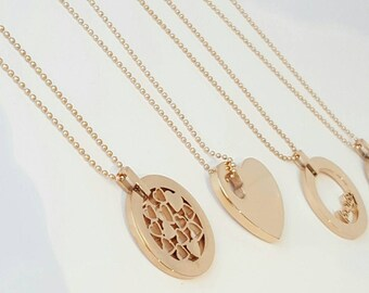 Rose Gold Tree of Life necklace | Family | Heart necklace | family necklace