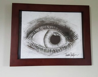 Eye Sketch Print: Heather Donigan