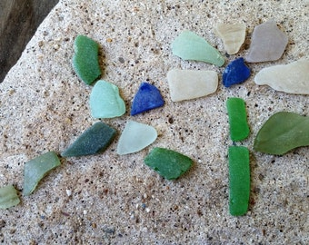 Genuine Sea Glass Lovely Colors