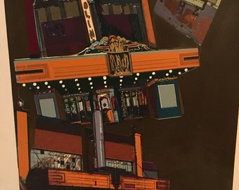 "The ""Theaters II"" Thomas Seawell Print"