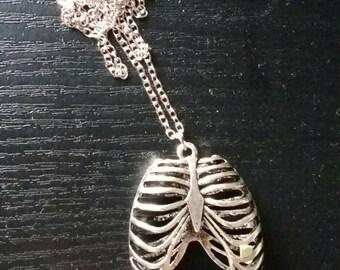 Ribcage Anatomical Pendant