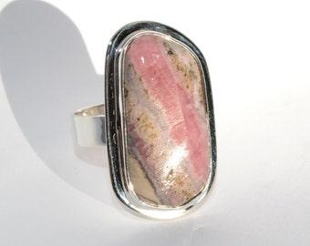 Sterling Silver Ring Rosa del Inca