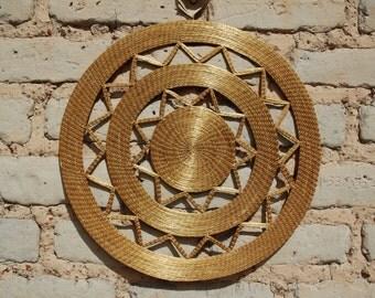 Golden Grass Mandal - Brazilian exclusive plant
