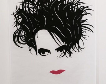 Robert Smith Tea Towel The Cure