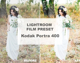Lightroom Preset Kodak Portra 400, Film Presets For Lightroom, Wedding Presets