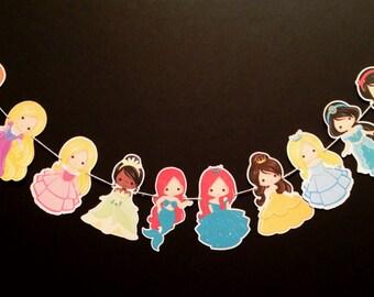 Fairytale Princess Garland (Disney Inspired)