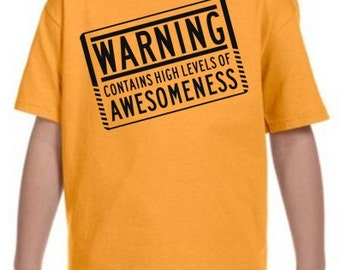 Contaminated With Awesomeness T-Shirt