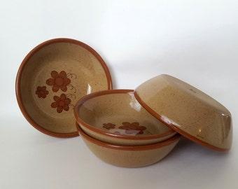 El Palomar Pottery Set of 4 Stoneware Bowls