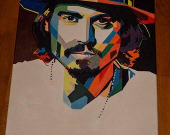 Johnny Depp POP ART