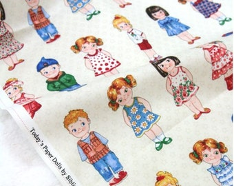 Today's Paper Dolls From Newcastle Fabrics sold By The Yard