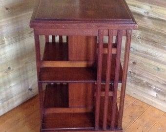 Edwardian Freestanding Mahogany Bookcase