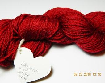 handspun merino wool