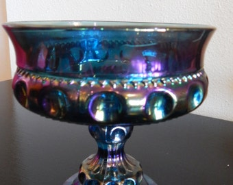 Carnival Glass Candy Dish/Compote